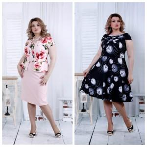 Стильні літні сукні