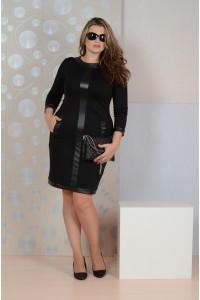 Фото Черное платье 082