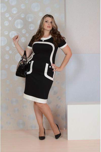 Фото Черное платье 088