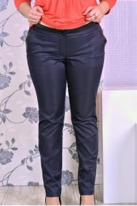 Фото Темно-синие брюки 007