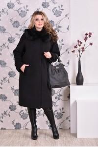 Фото Черное пальто 0151 (разные версии)