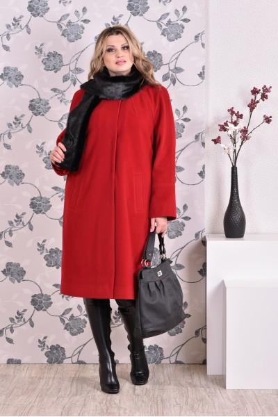 Фото Красное пальто 0151 (разные версии)