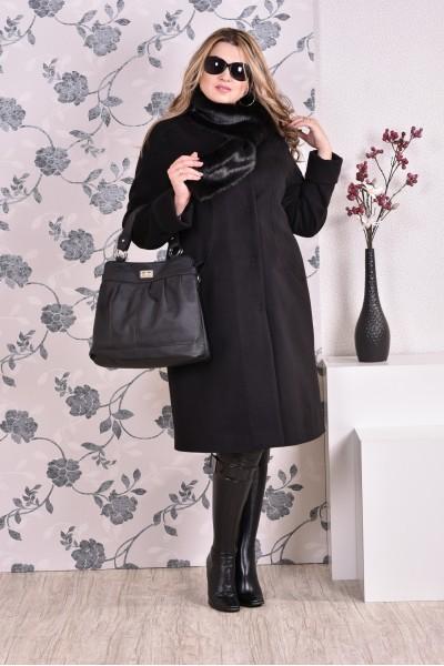 Фото Черное пальто 0153 (разные версии)