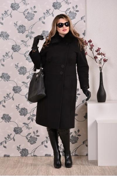 Фото Черное пальто 0199 (разные версии)
