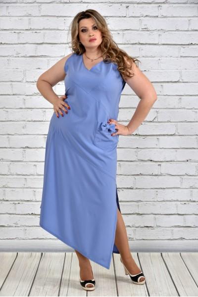 Фото Синє плаття 0299-3