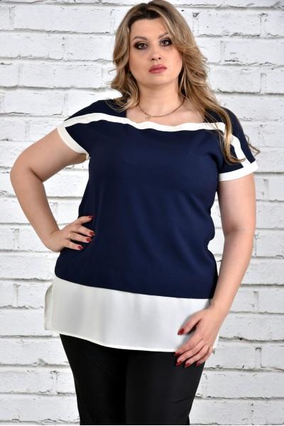 Фото Синя блуза 0315-3