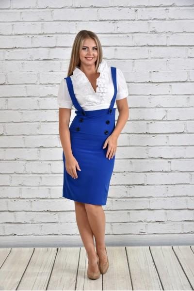 Фото Синє плаття 0327-3