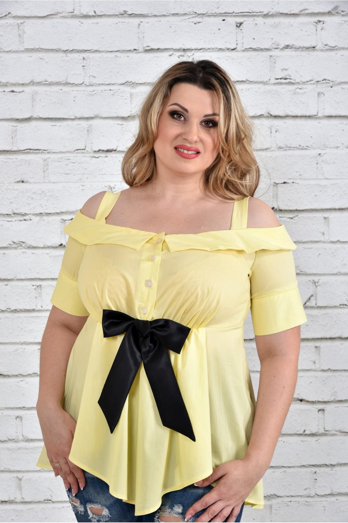 Жовта блузка з 42 до 74 розміру. Ціна 500 грн.  0e1b728cc1e7d