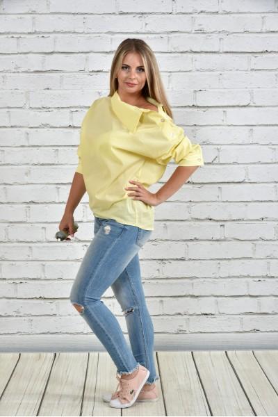 Фото Желтая блузка 0341-1