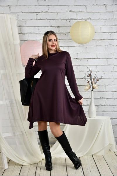 Фото Женское платье бисквит 0433-1