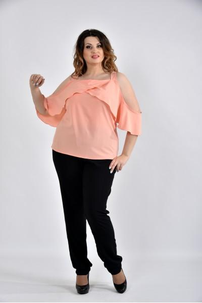 Фото Персиковая блузка 0535-3