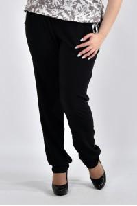 Фото Черные летние брюки б026-1