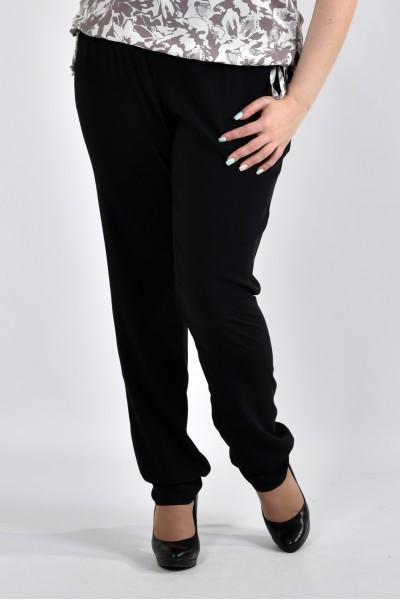 Фото Чорні літні брюки б026-1