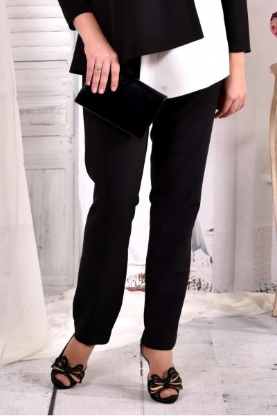 Фото Чорні ділові брюки 030-1 (ідеально поєднуються з блузкою 0565-1)