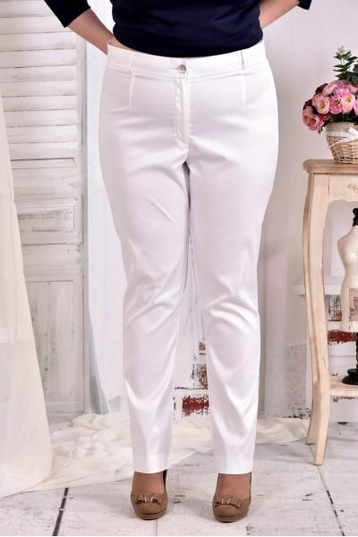 Фото Світлі брюки класичного стилю 030-4