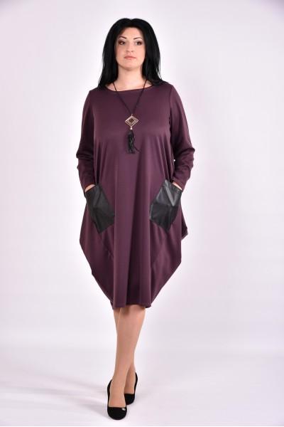 Фото Бисквитное платье туника из трикотажа | 0594-3