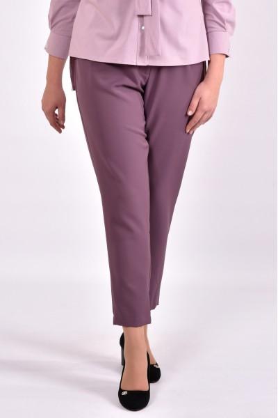 Фото Бісквітні стильні штани по щиколотку | 031-1