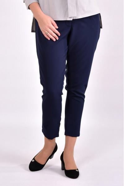Фото Сині укорочені брюки | 031-2