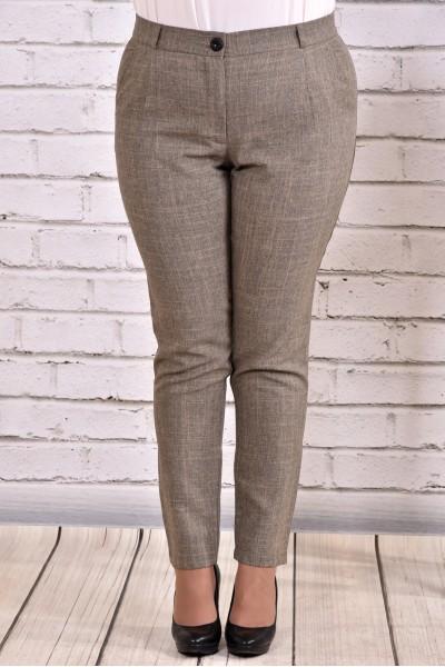 Фото Гірчичні штани з габардину | b029-2