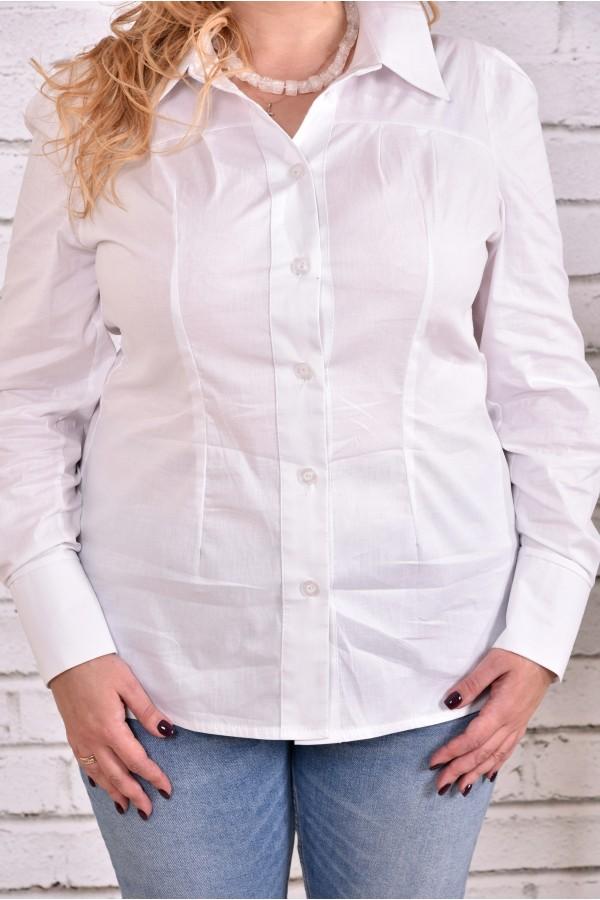 Фото Біла сорочка | 0646-1