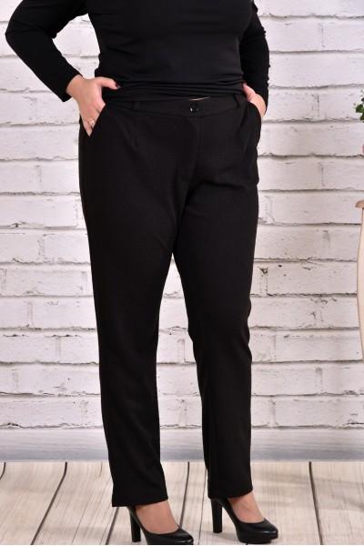 Фото Чорні укорочені брюки b0632 | b0632