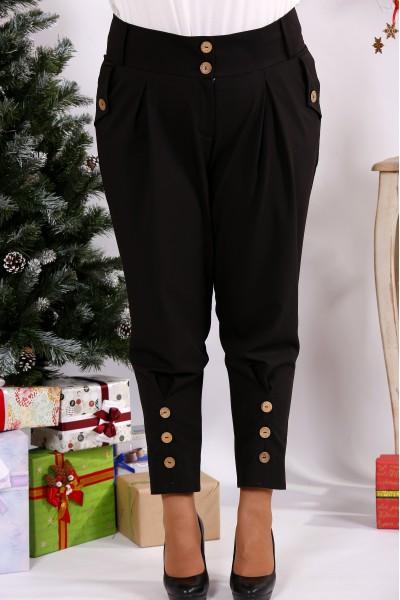 Фото Черные модные брюки | b033-2