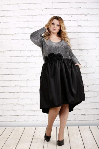 Платье с пышной юбкой | 0729-2