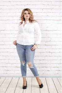 Фото Біла блузка | 0787-1