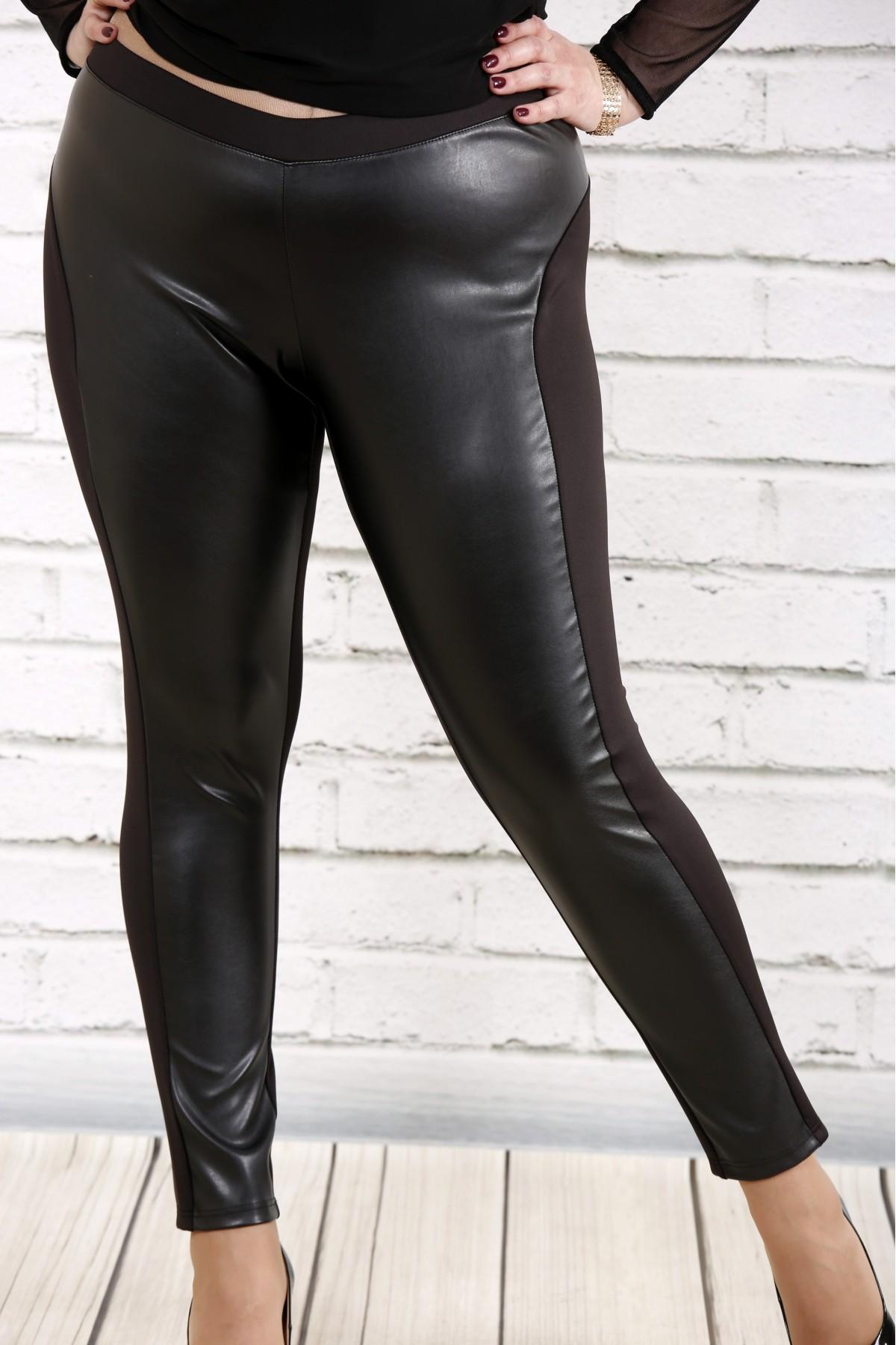 Купити Чорні брюки з еко-шкірою  b3999059afd29