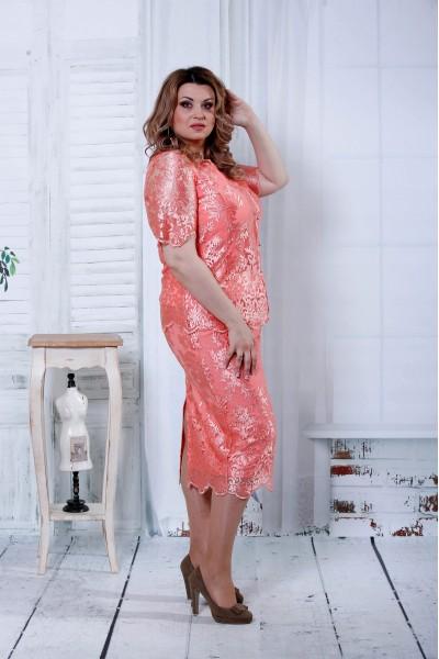Фото Гарний рожевий костюм | 0797-2