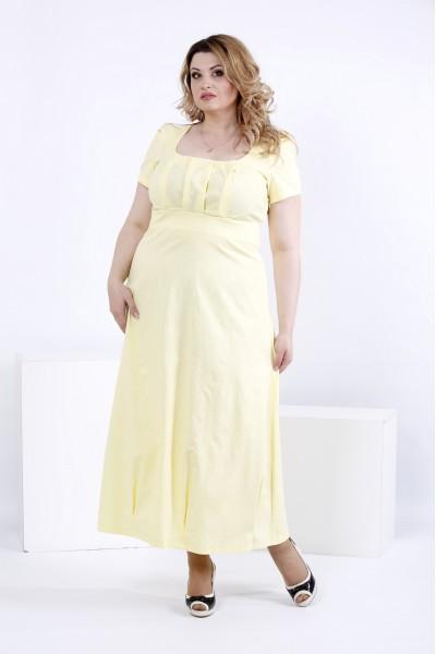 Літній довга сукня | 0824-2