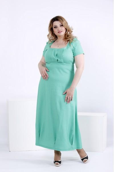 Фото Летнее платье в пол | 0824-3