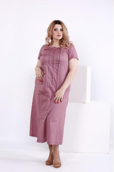 Фото Бисквитное платье из хлопка | 0842-1
