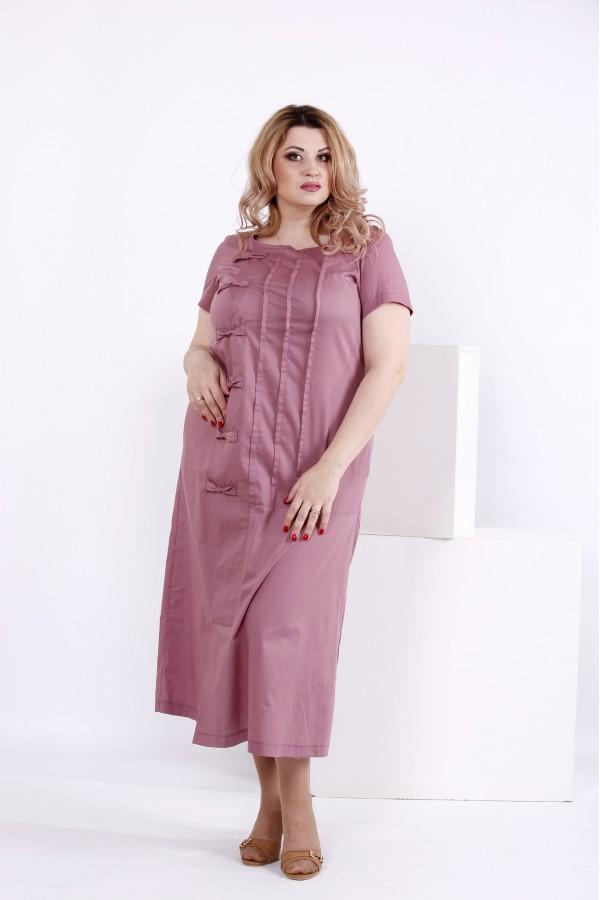 Фото Бісквітне плаття з бавовни | 0842-1