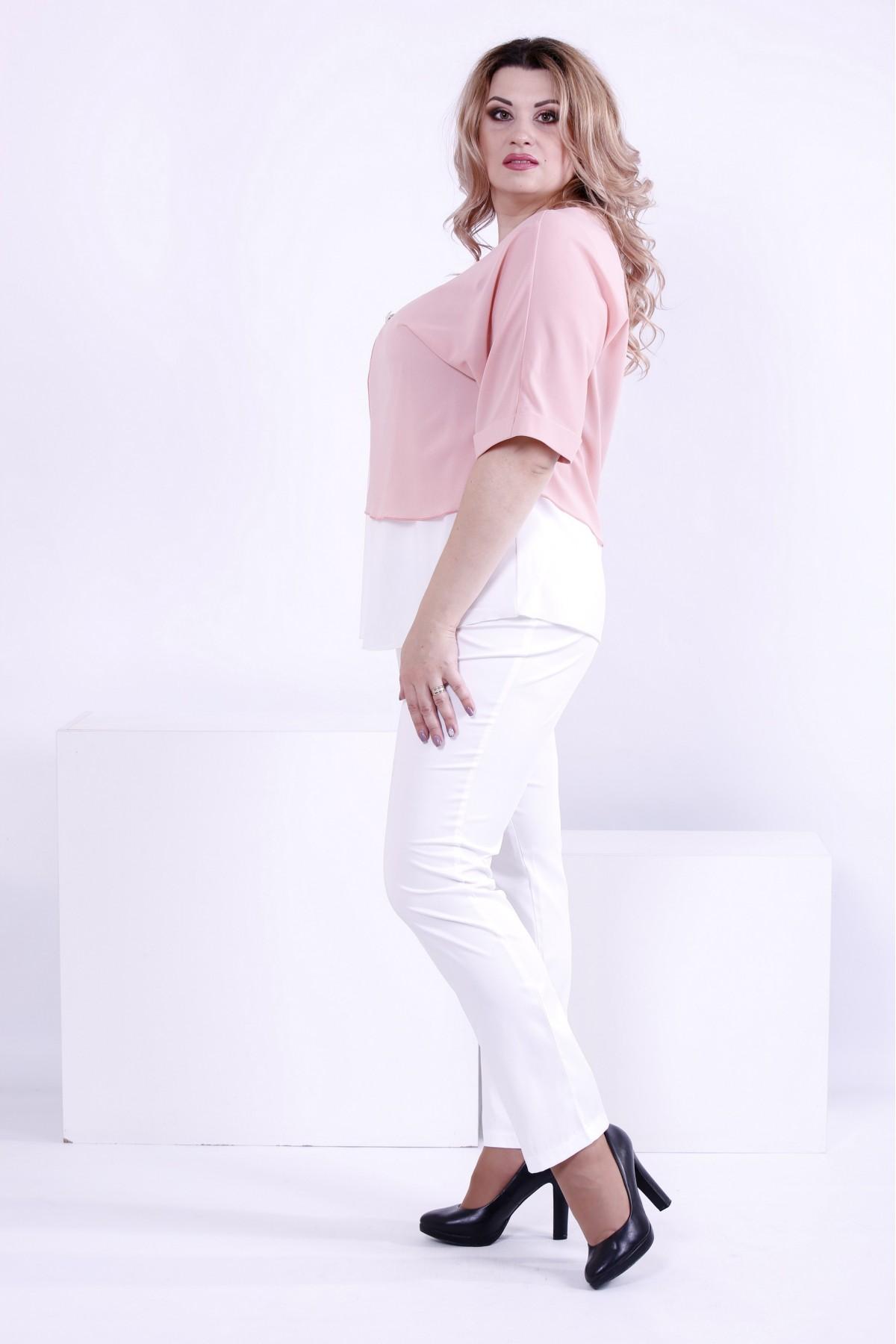 44be9de32bb ... Фото Светлая легкая блузка