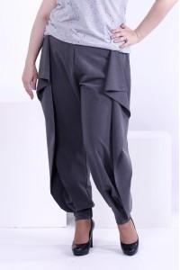 Фото Сірі штани з віскози | b039-2