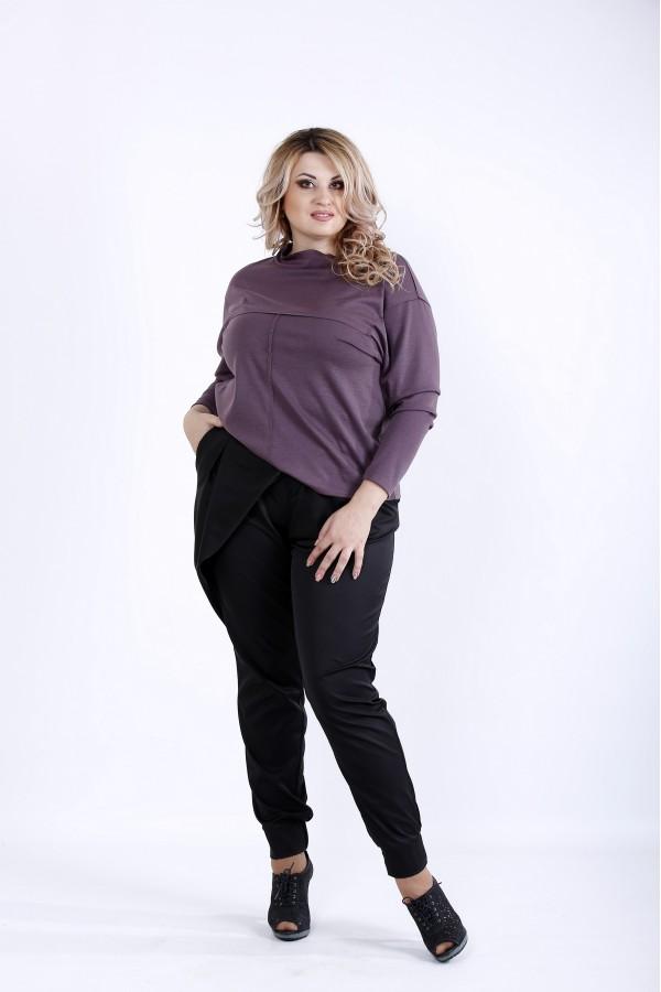 Фото Бисквитная блузка из трикотажа | 0885-2