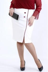 Фото Юбка с красным кантом | 0902-2