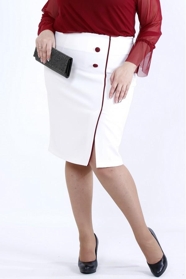 Фото Спідниця з червоним кантом | 0902-2
