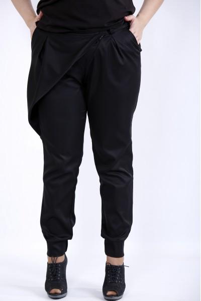 Фото  Чорні модні штани | b040-2