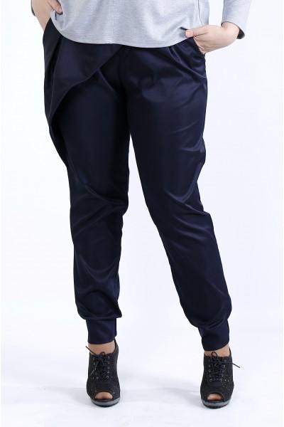 Фото Синие удобные брюки | b040-3