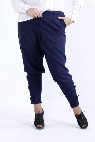 Фото Синие удобные штаны | b041-3
