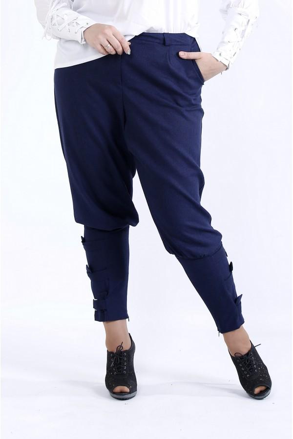 Фото  Сині зручні штани | b041-3