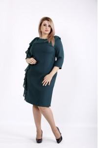 Фото Красивое элегантное зеленое платье | 0930-3