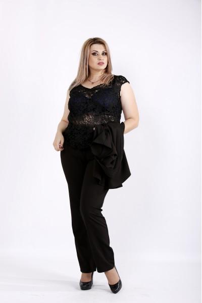 Фото Черный костюм из трех элементов | 0948-2