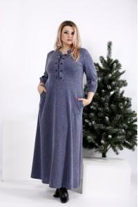 Фото Максі плаття, яке приховує фігуру | 0964-2