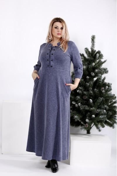 Фото Макси платье, скрывающее фигуру | 0964-2