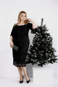 Фото Чорне ошатне плаття (в комплекті знімна спідниця)  b288e88c988a5