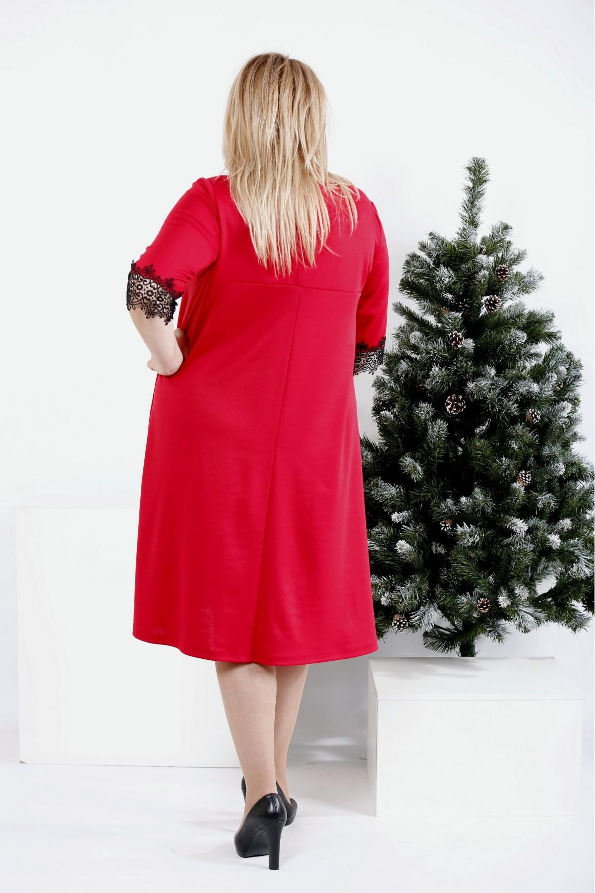 ... Фото Вільне яскраве плаття до коліна  bf63d922cd286