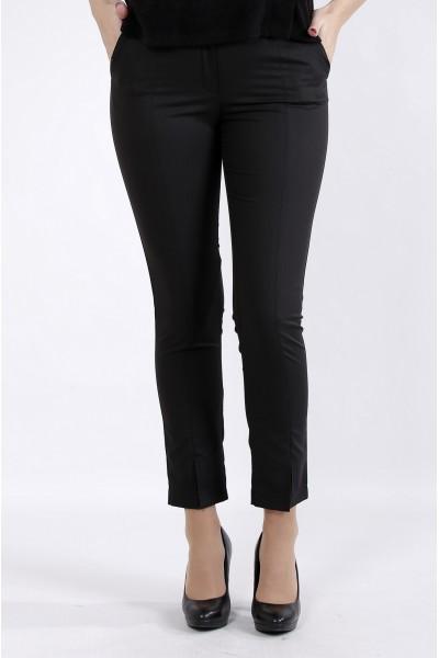 Фото Черные деловые брюки | b045-1
